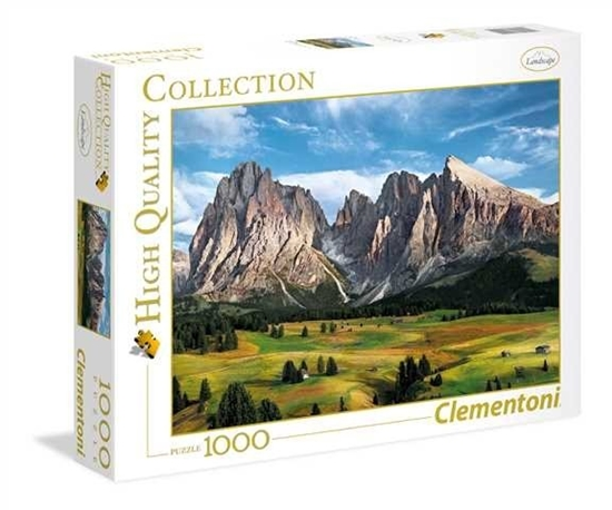 1000 elementów Hihg Quality The Coronation Of The Alps (39414 CLEMENTONI)