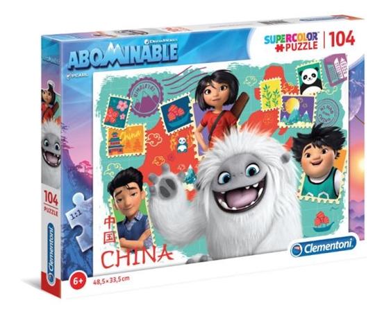 Clementoni Puzzle 104el SUPER KOLOR Abominable / O Yeti! 27125 p6 (27125 CLEMENTONI)