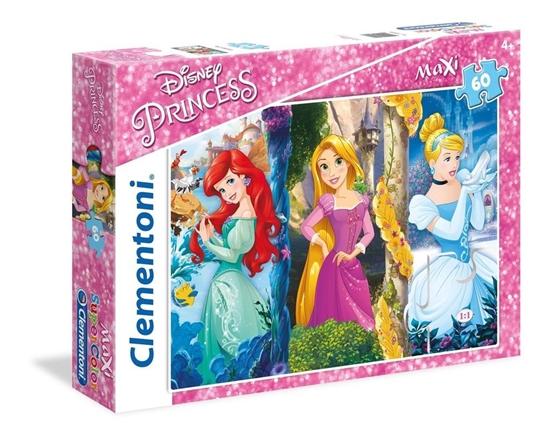Clementoni Puzzle 60el Maxi Princess 26416 (26416 CLEMENTONI)