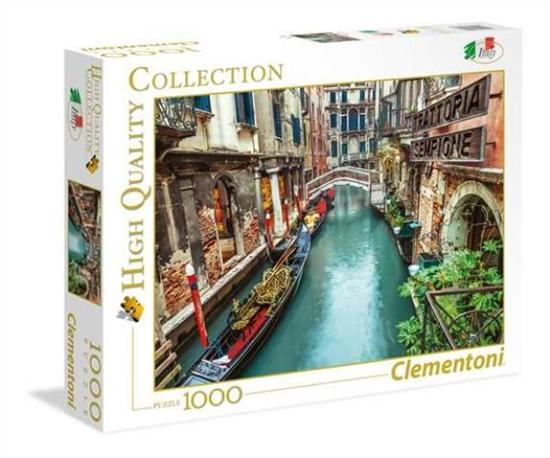 Clementoni Puzzle 1000el Italian Collection Venice Canal 39458 p6, cena za 1szt. (39458 CLEMENTONI)