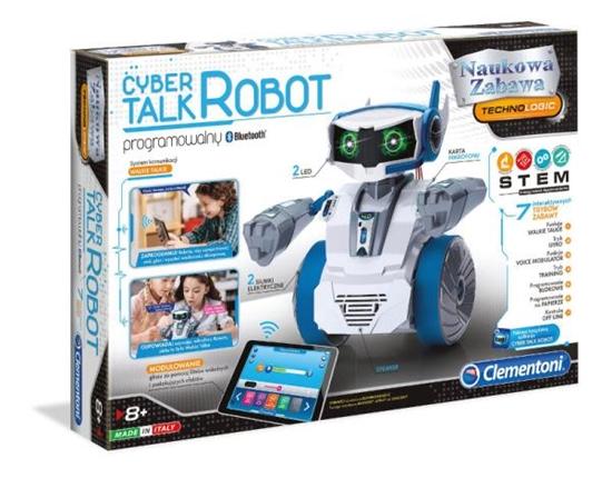 Clementoni Mówiący Cyber Robot 50122 p6 (50122 CLEMENTONI)