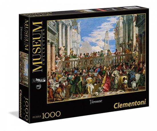 1000 Elementów, Veronese, Wesele w Kanie (39391 CLEMENTONI)
