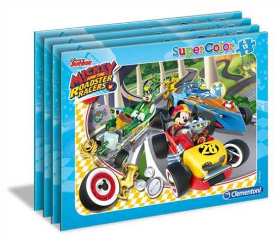 Clementoni Puzzle 15el ramkowe Mickey & Rajdowcy 22229 (22229 CLEMENTONI)
