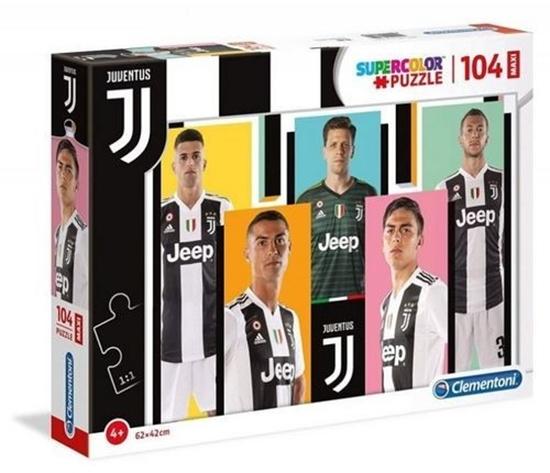 Puzzle 104 elementy MAXI Juventus 1 (GXP-683627)