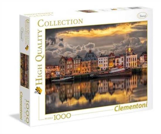 Clementoni Puzzle 1000el HQC Dutch Dreamworld 39421 p6, cena za 1szt. (39421 CLEMENTONI)
