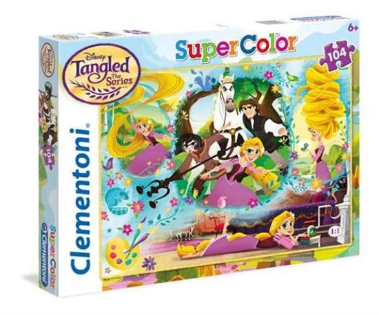 Clementoni Puzzle 104el Princess - Rapunzel 27084 p6, cena za 1szt. (27084 CLEMENTONI)