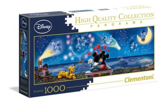 Clementoni Puzzle 1000el Panorama - Mickey & Minnie 39449 p6, cena za 1szt. (39449 CLEMENTONI)