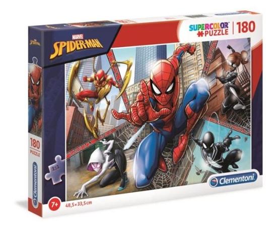 Clementoni Puzzle 180el SUPER KOLOR Spider-Man 29302 p6 (29302 CLEMENTONI)