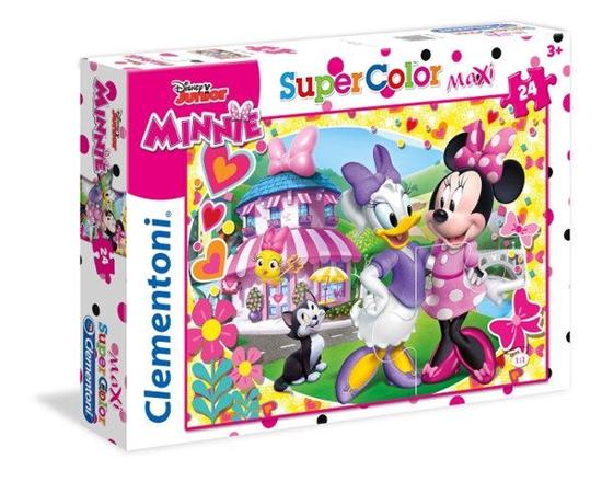 Clementoni Puzzle 24el Maxi Minnie Roadster Racers 24480 p6, cena za 1szt. (24480 CLEMENTONI)