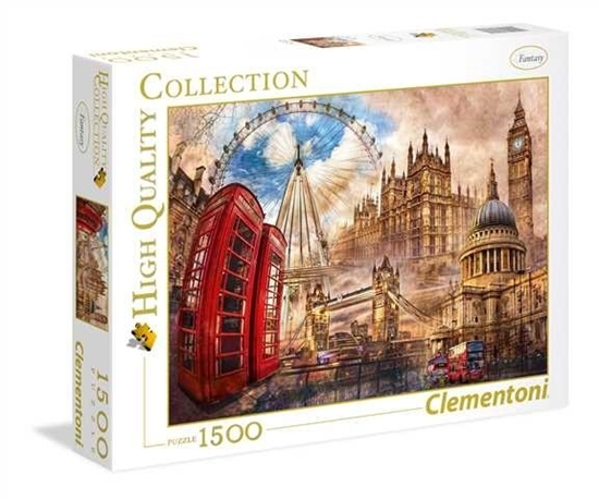 1500 elementów High Quality Vintage London (31807 CLEMENTONI)
