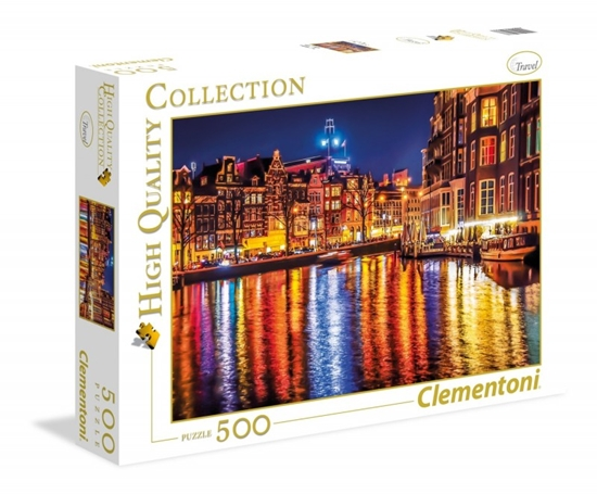 500 Elementów Amsterdam (35037 CLEMENTONI)