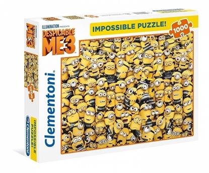 1000 Elementów Impossible Minionki (39408 CLEMENTONI)