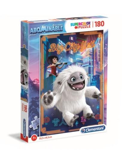 Clementoni Puzzle 180el SUPER KOLOR Abominable O Yeti! 29766 p6 (29766 CLEMENTONI)