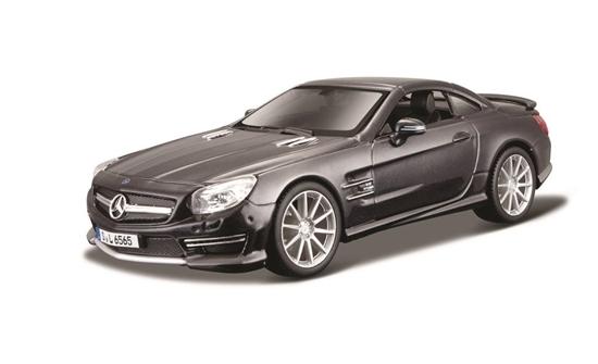 Mercedes-Benz SL 65 AMG czarny 1:24 BBURAGO (GXP-522937)