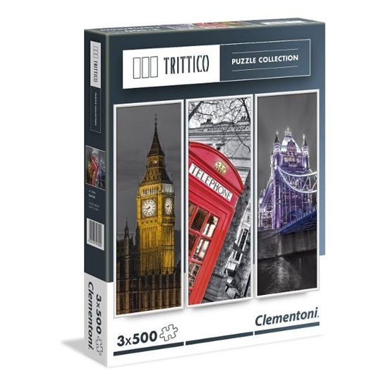 3x500 EL. Trittico London (39306)