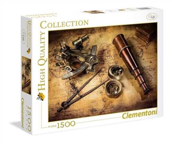 Clementoni Puzzle 1500el HQC Course To The Treasure 31808 p6, cena za 1szt. (31808 CLEMENTONI)