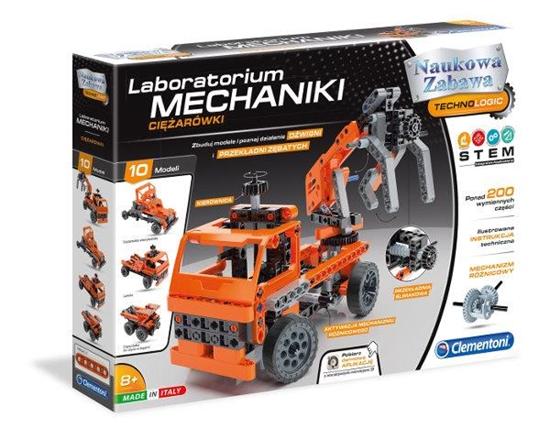 Clementoni Laboratorium Mechaniki - Ciężarówki 60992 p6, cena za 1szt. (60992 CLEMENTONI)