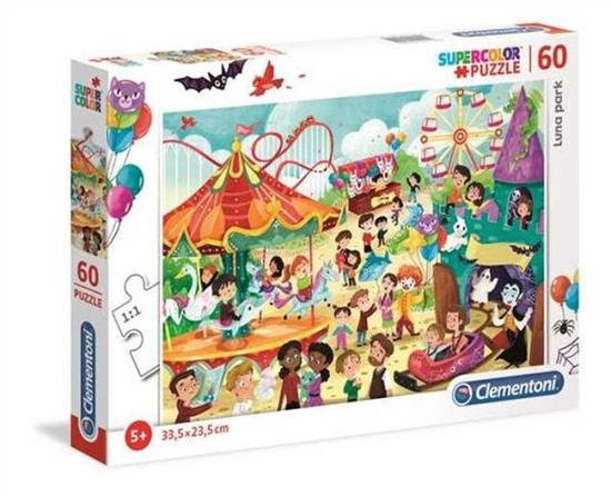 Clementoni Puzzle 60el SUPER KOLOR Luna Park 26991 p6 (26991 CLEMENTONI)