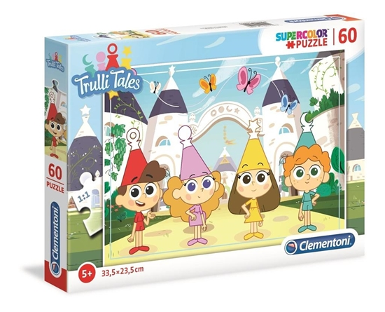 Clementoni Puzzle 60el SUPER KOLOR Słodkie opowieści 26055 p6 (26055 CLEMENTONI)