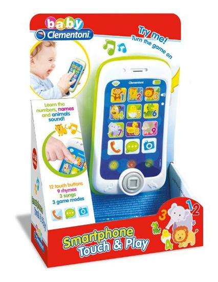 Clementoni Smartfon dotykowy 17223, p6 cena za 1szt. (17223 CLEMENTONI)
