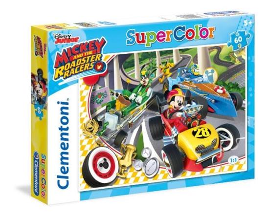 Clementoni Puzzle 60el Mickey Roadster Racers 26976 (26976 CLEMENTONI)