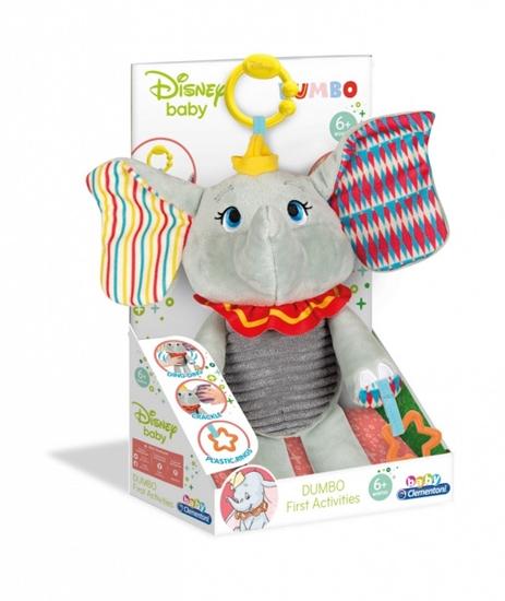Maskotka Dumbo Mój pierwszy pluszak (17297 CLEMENTONI)
