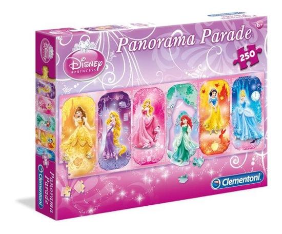 PROMO Clementoni Puzzle 250el Panorama Parade Princess 94070 (94070 CLEMENTONI)