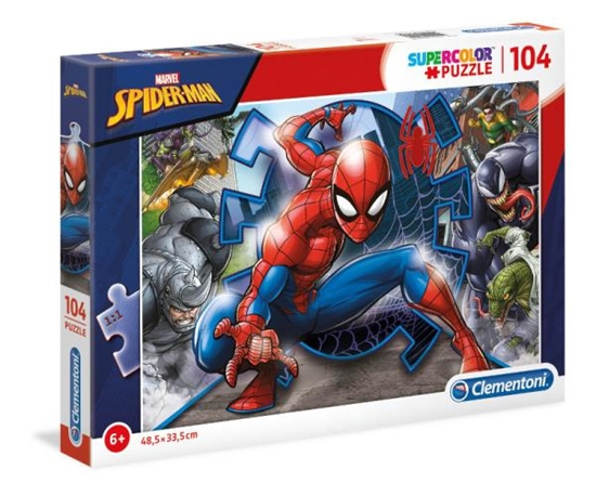 Clementoni Puzzle 104el SUPER KOLOR Spider-Man 27116 p6 (27116 CLEMENTONI)