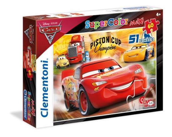 Clementoni Puzzle 60el Maxi Cars 3 26424 (26424 CLEMENTONI)