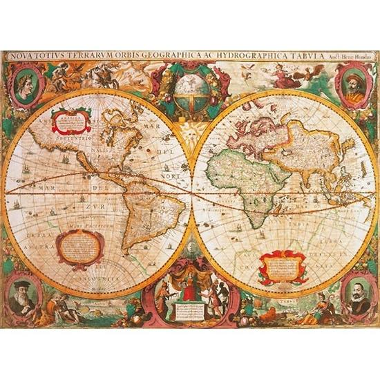 CLEMENTONI 1000 EL. Anty czna Mapa (31229 CLEMENTONI)