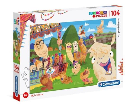 Clementoni Puzzle 104el SUPER KOLOR Lama 27279 p6 (27279 CLEMENTONI)