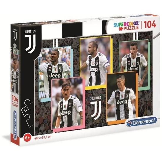 Puzzle 104 elementy Juventus 3 (27524 CLEMENTONI)