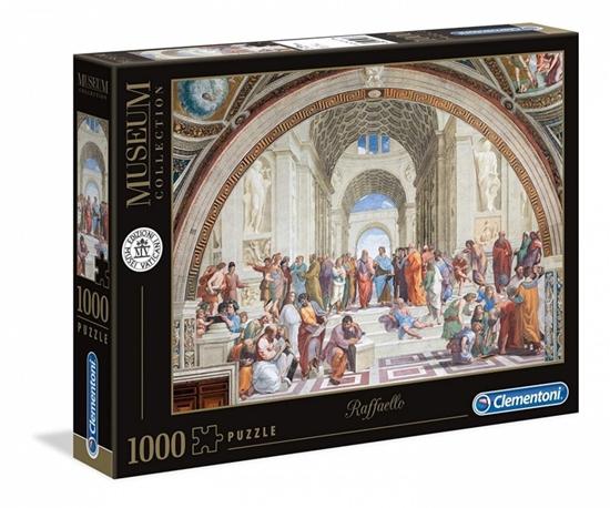 Puzzle 1000 elementów Museum - Szkoła ateńska (39483 CLEMENTONI)