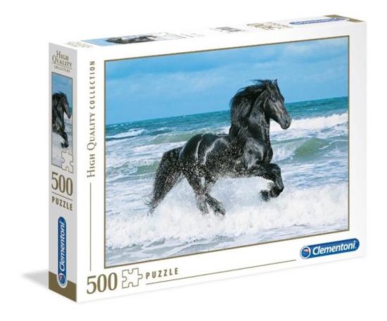 Clementoni Puzzle 500el Black Horse 30175 p6, cena za 1szt. (30175 CLEMENTONI)