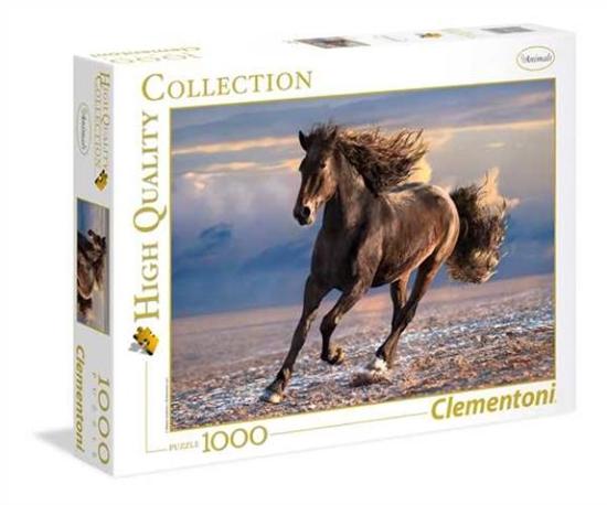Clementoni Puzzle 1000el HQC Free Horse 39420 p6, cena za 1szt. (39420 CLEMENTONI)