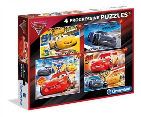 Clementoni Puzzle 20+60+100+180el Cars 3 07714 p6, cena za 1szt. (07714 CLEMENTONI)