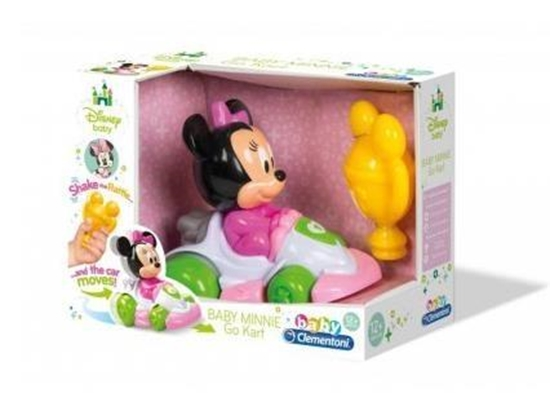 PROMO Clementoni Baby Minnie Gokart 17124 (17124 CLEMENTONI)