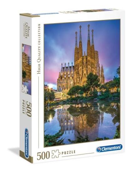 Clementoni Puzzle 500el Barcelona Sagrada Familia 35062 p6 (35062 CLEMENTONI)