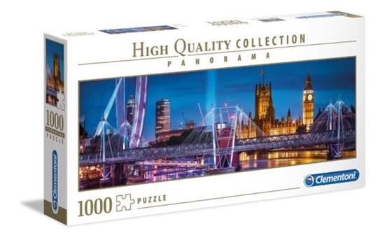 Clementoni Puzzle 1000 EL PANORAMA HQ Londyn 39485 p6 (39485 CLEMNTONI)