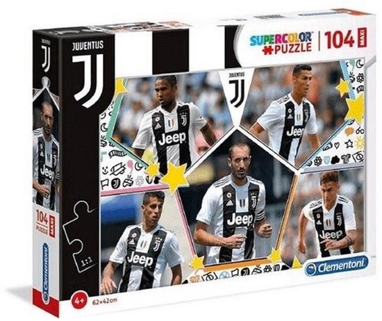 Puzzle 104 elementy MAXI Juventus 2 (23726 CLEMENTONI)