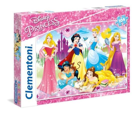 Clementoni Puzzle 104el Princess 27086 p6, cena za 1szt. (27086 CLEMENTONI)