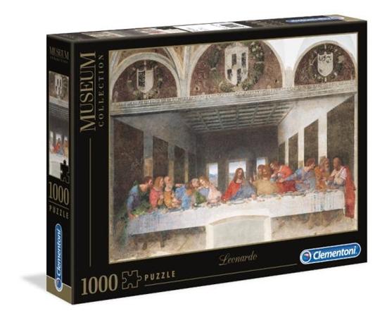 Clementoni Puzzle 1000el Leonardo Ostatnia Wieczerza 31447 p6, cena za 1szt. (31447 CLEMENTONI)
