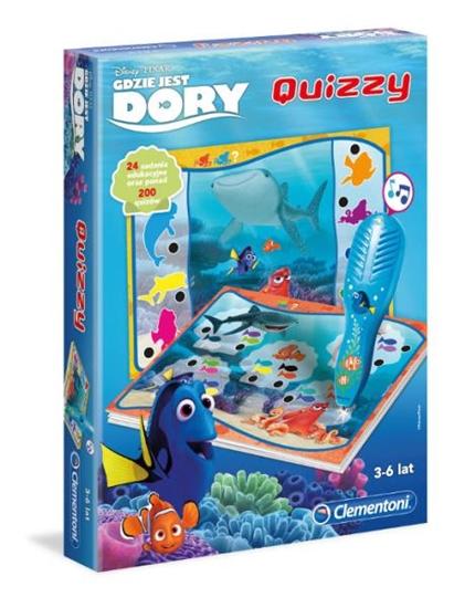 Clementoni Quizzy Gdzie jest Dory? 60932  p6, cena za 1szt. (60932 CLEMENTONI)