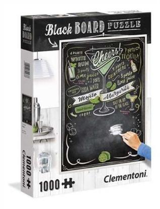 Clementoni Puzzle 1000el Blackboard Cheers 39467 p6, cena za 1szt. (39467 CLEMENTONI)