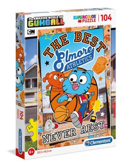 Clementoni Puzzle 104el Niesamowity świat Gumballa 27273 p6 (27273 CLEMENTONI)