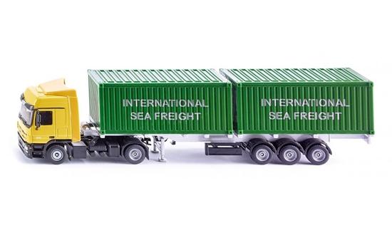 ! Ciężarówka z naczepą i kontenerami (S3921)