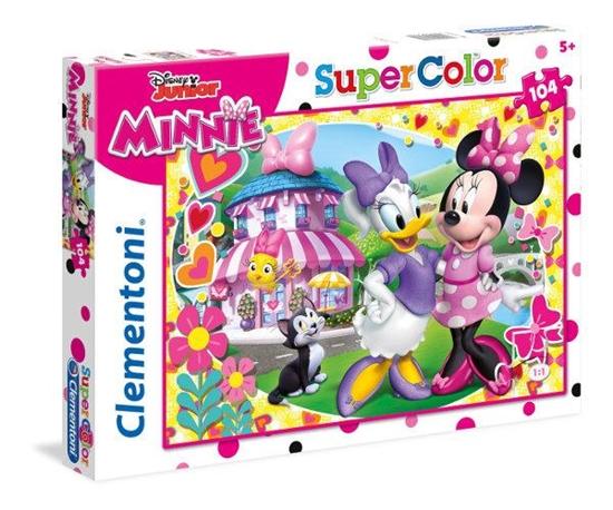 Clementoni Puzzle 104el Minnie Roadster Racers 27982 p6, cena za 1szt. (27982 CLEMENTONI)