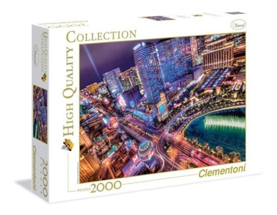 Clementoni Puzzle 2000el Las Vegas 32555 p6, cena za 1szt. (32555 CLEMENTONI)