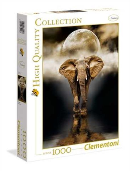 Clementoni Puzzle 1000el HQC The Elephant 39416 p6, cena za 1szt. (39416 CLEMENTONI)
