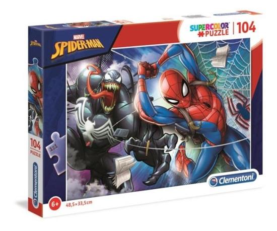 Clementoni Puzzle 104el SUPER KOLOR Spider-Man 27117 p6 (27117 CLEMENTONI)